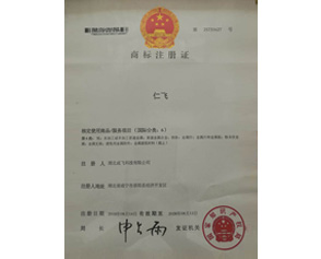 仁飞牌文字注册商标
